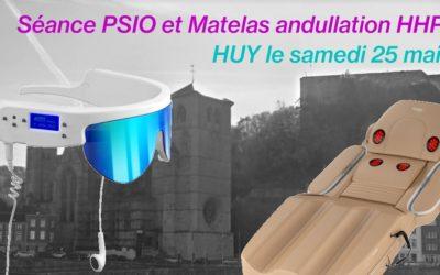 Test du PSIO et du Matelas andullation à Huy le 25 mai 2019